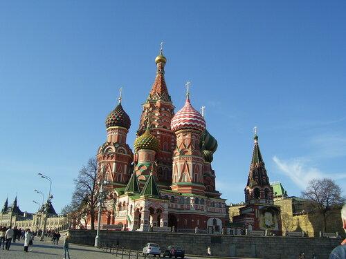 Покровский храм на Красной площади(Василия Блаженого)