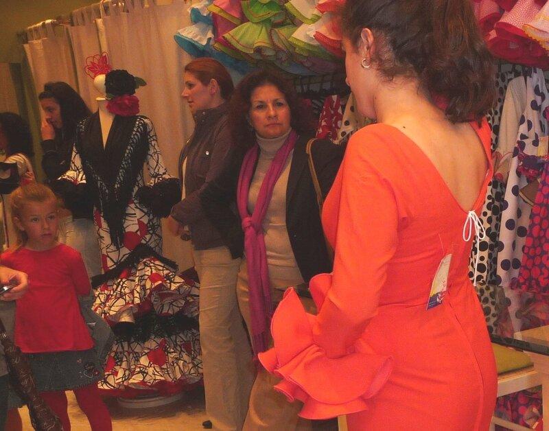 Платье для фламенко. Еще с биркой