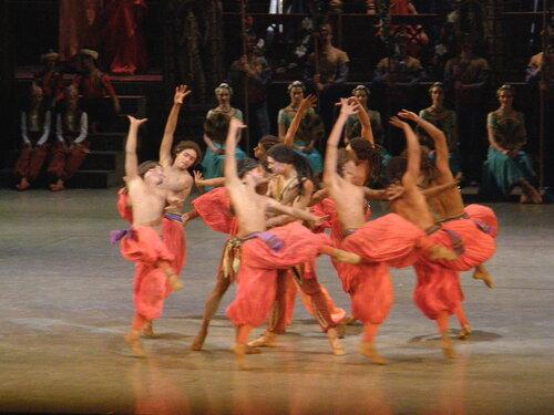 """Балет """"Баядерка"""". Индусский танец"""