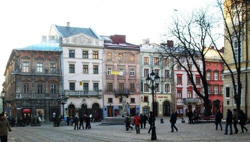 Краски площади Рынок
