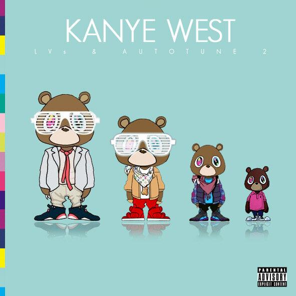 Kanye West - LVs & Autotune 2 (2009)