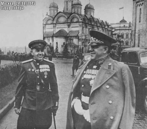 Жуков в Кремле 24 июня 1945