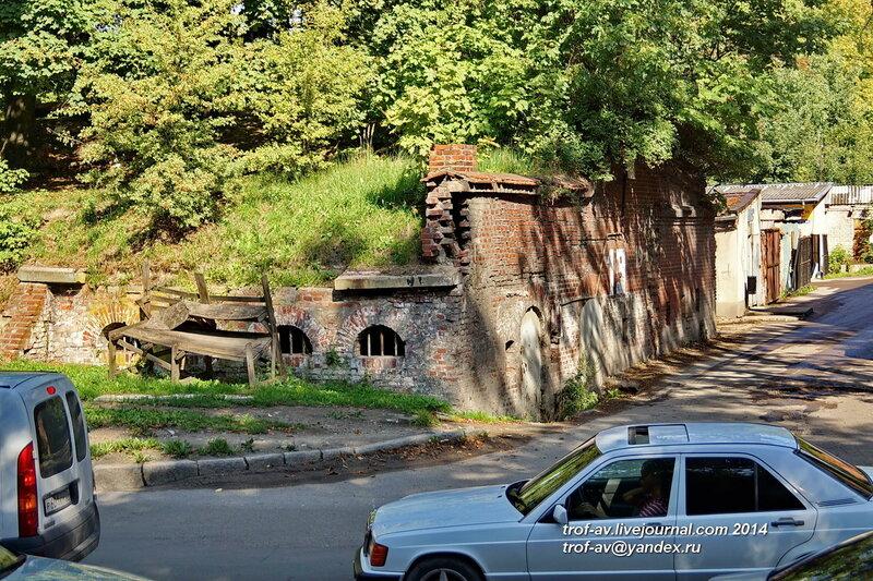 Литовский вал у бастиона Грольман, Калининград