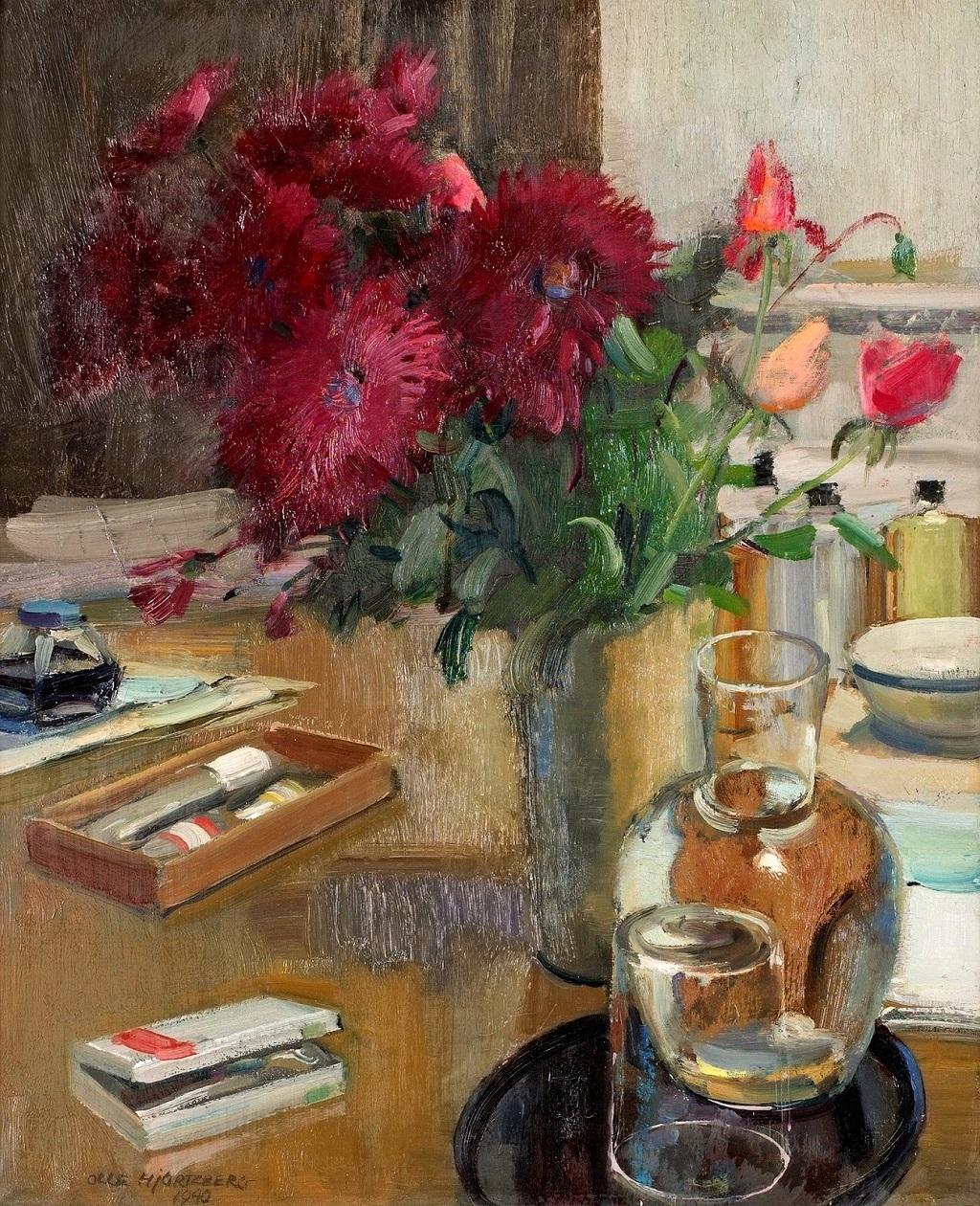 29- 1940_Натюрморт с цветами_61 x 50_х.,м._Частное собрание.jpg