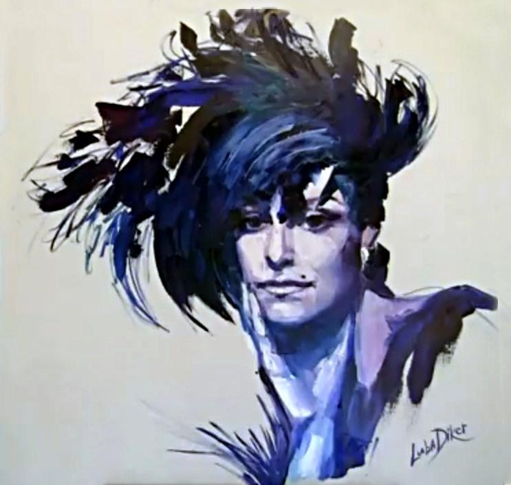Портрет Майи Плисецкой Люся Дикер.jpg