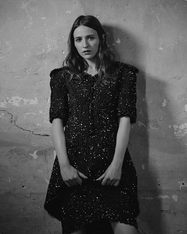 Christa Theret in Chanel Couture by Eric Guillemain