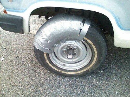 Грыжа колеса