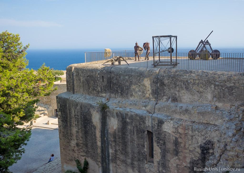 Аликанте с высоты крепости Санта-Барбара