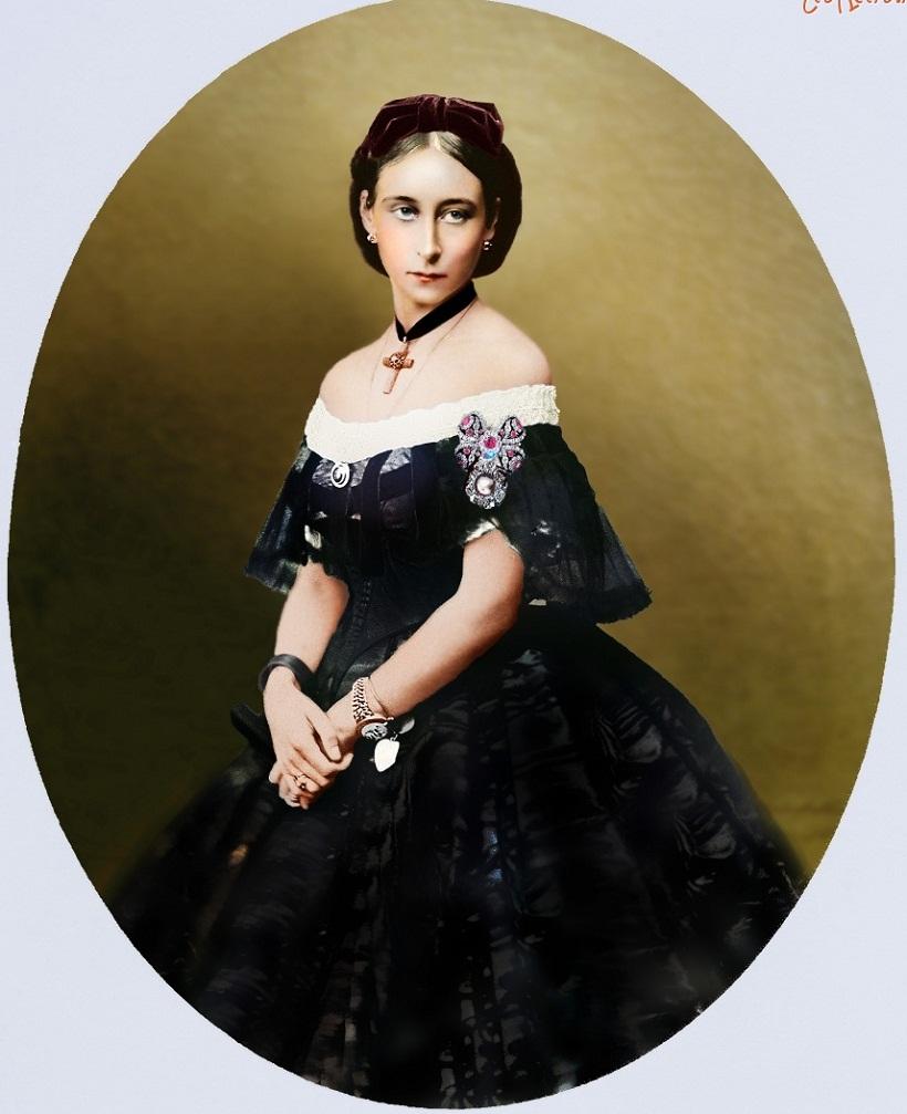 Алиса, принцесса Луи Гессен (1843-78)