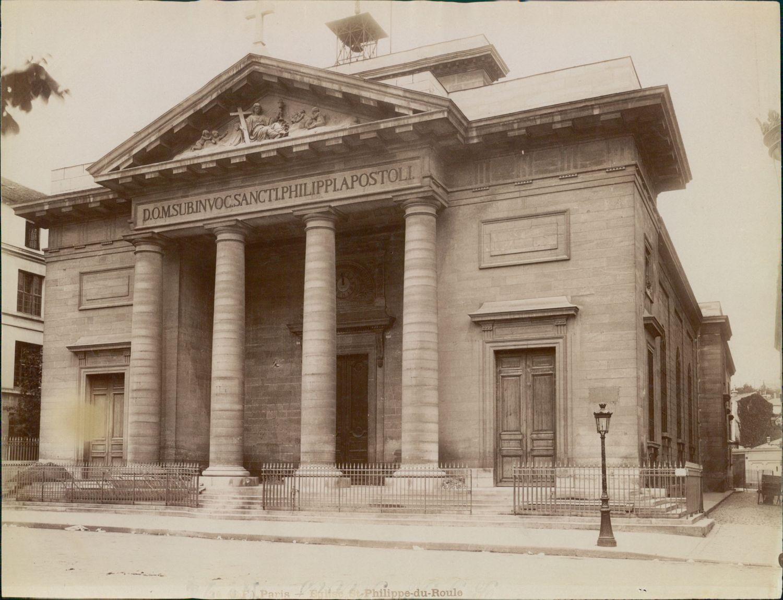 1880-е. Церковь Сен-Филипп-дю-Руль
