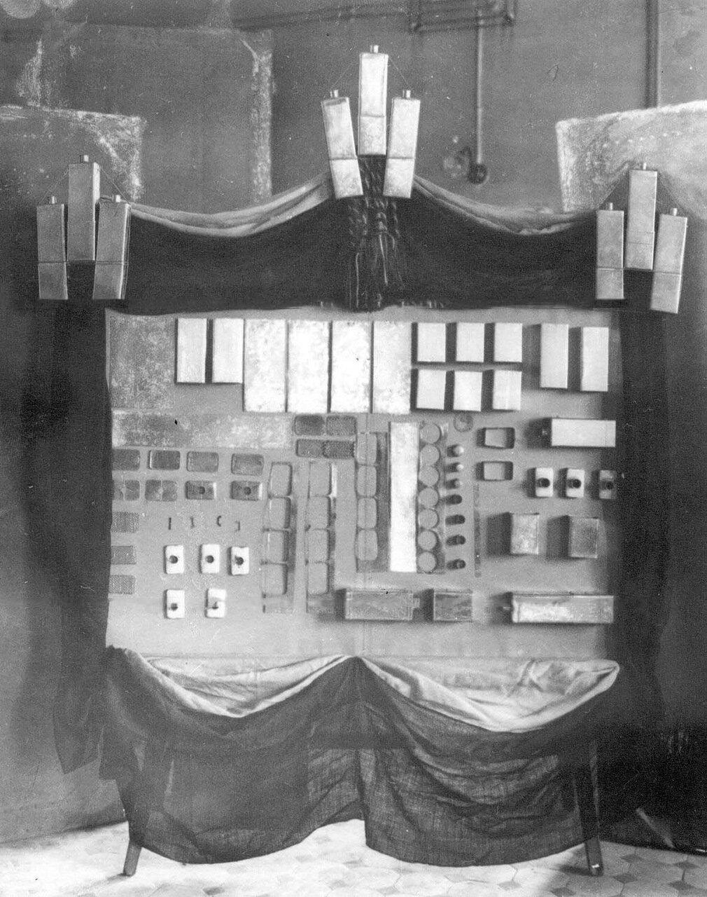17. Образцы противогазов.1916