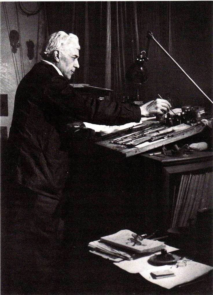 Жорж Брак рисует