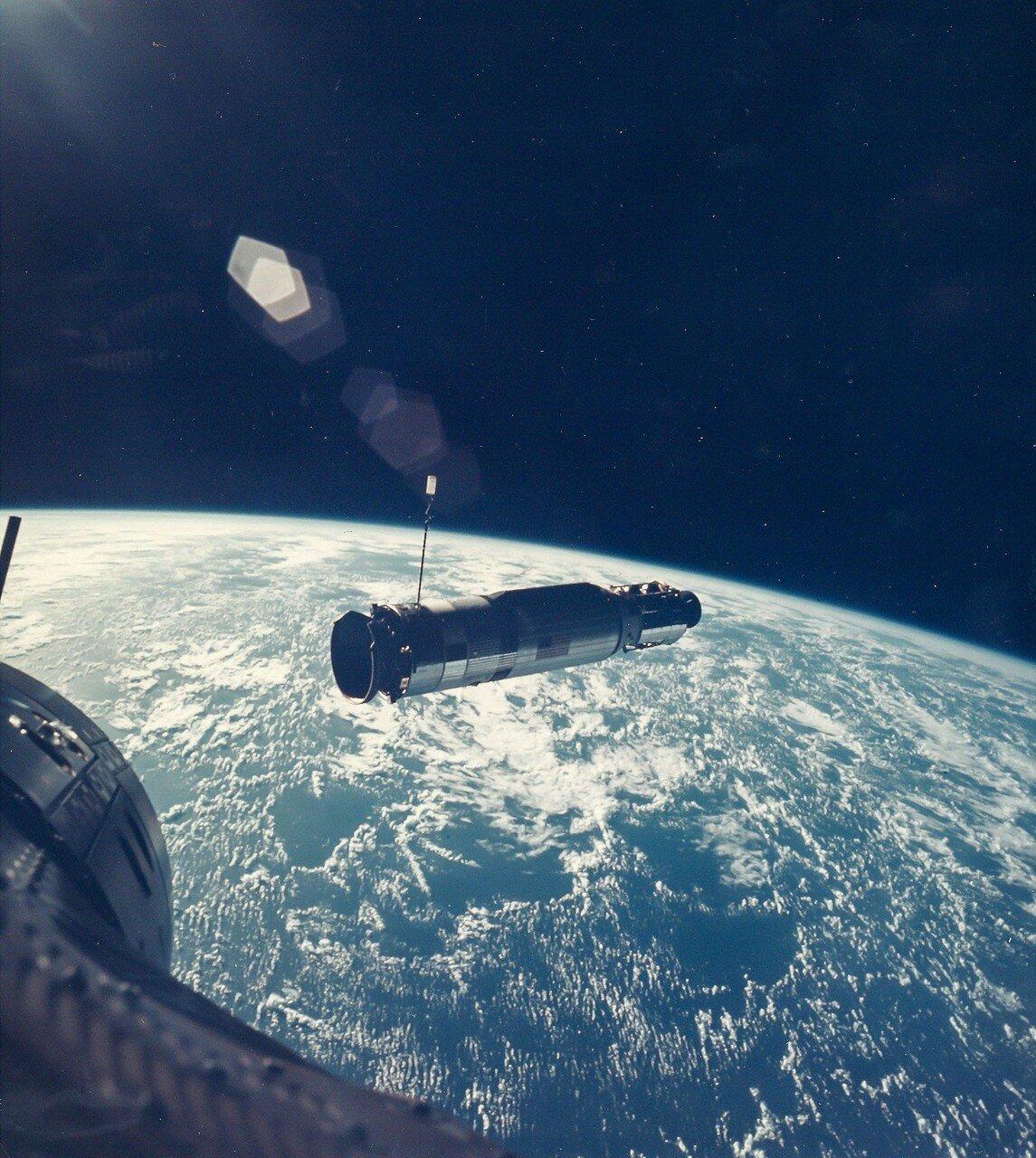 1966, июль. «Аджена-X» в лучах восходящего Солнца