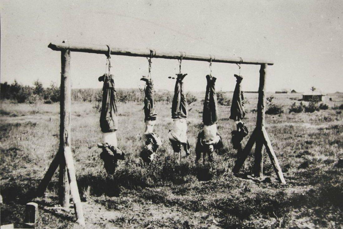 1941-1944. Марк Борисович Марков-Гринберг. Казненные партизаны