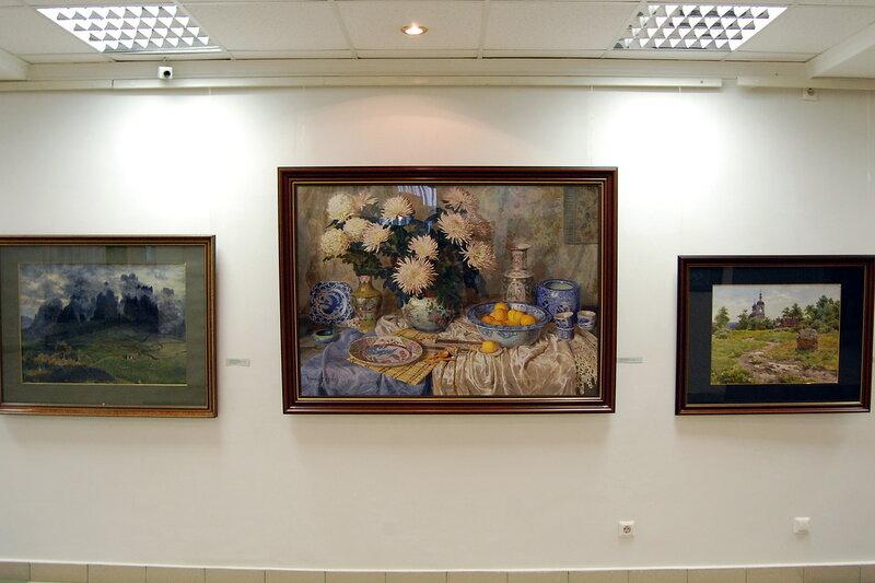 """Выставка """"Мастер и ученик"""""""