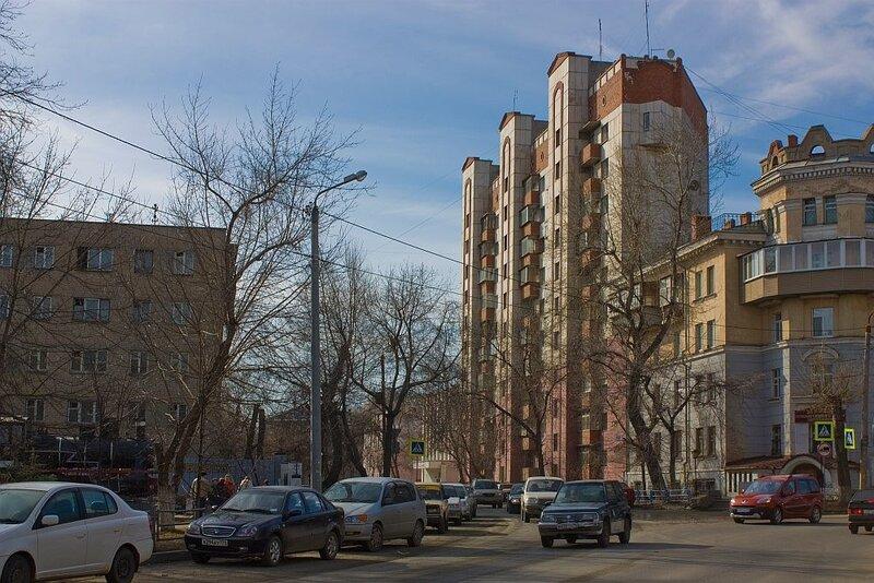 Жилое многоэтажное здание ул. Российская 266