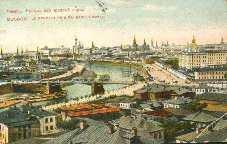 Кремль от Швивой горки