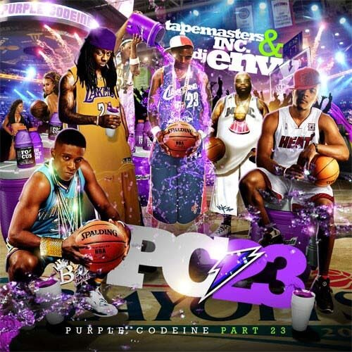 Tapemasters Inc & DJ Envy - Purple Codeine 23