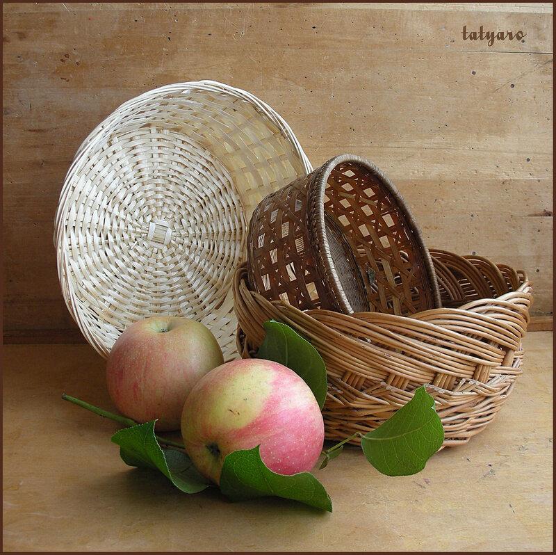 Корзинки и яблоки. Вариант 1