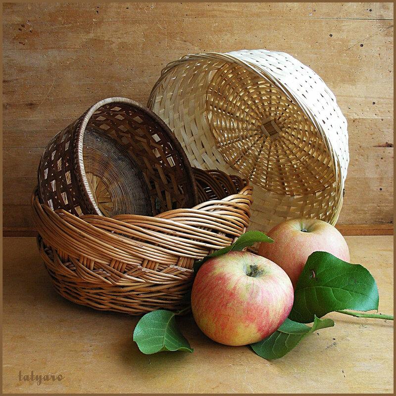 Корзинки и яблоки. Вариант 2