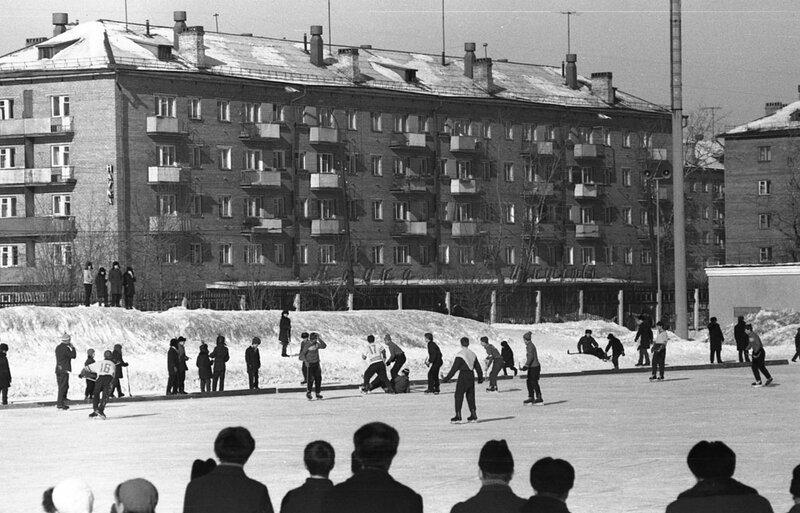 Стадион Шинник. Хоккей