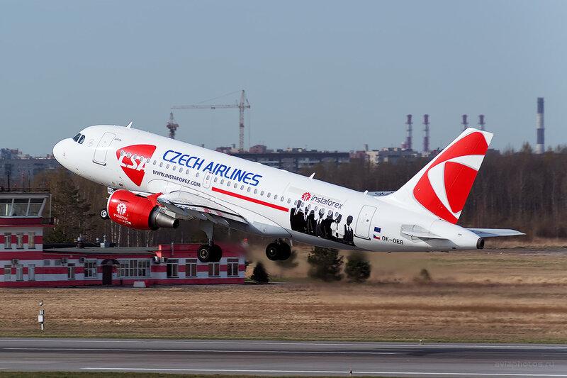 Airbus A319-112 (OK-OER) CSA - Czech Airlines D804356