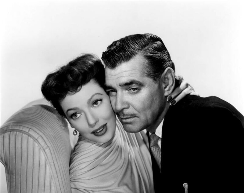 Loretta Young And Clark Gable Clark Gable And Loretta Young