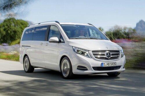 Новый автомобиль семейного типа от компании Мерседес