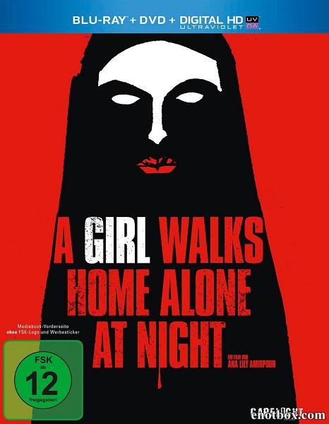 Девушка возвращается одна ночью домой / A Girl Walks Home Alone at Night (2014/BDRip/HDRip)