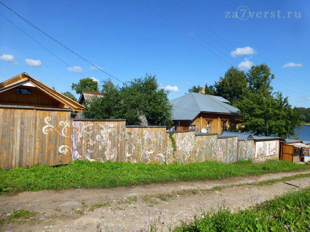 расписной забор, Тутаев