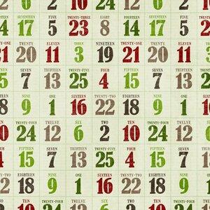 скрап бумага новогодняя