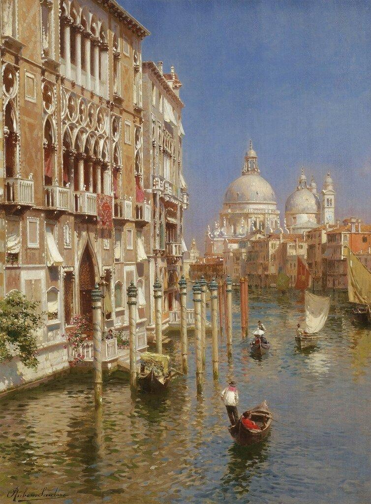 Rubens Santoro - The Grand Canal, Venice - 28563-20.jpg