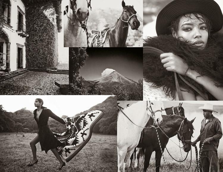 Малаика Ферт в журнале Porter (15 фото)