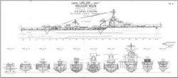 Книга Чертежи кораблей французского флота - VOLTA 1936