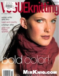 Журнал Vogue Knitting  2006, holidej