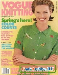 Журнал Vogue Knitting International Spring-Summer 1997.