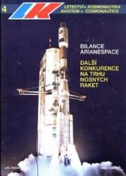 Журнал Letectvi + Kosmonautika 1994-04