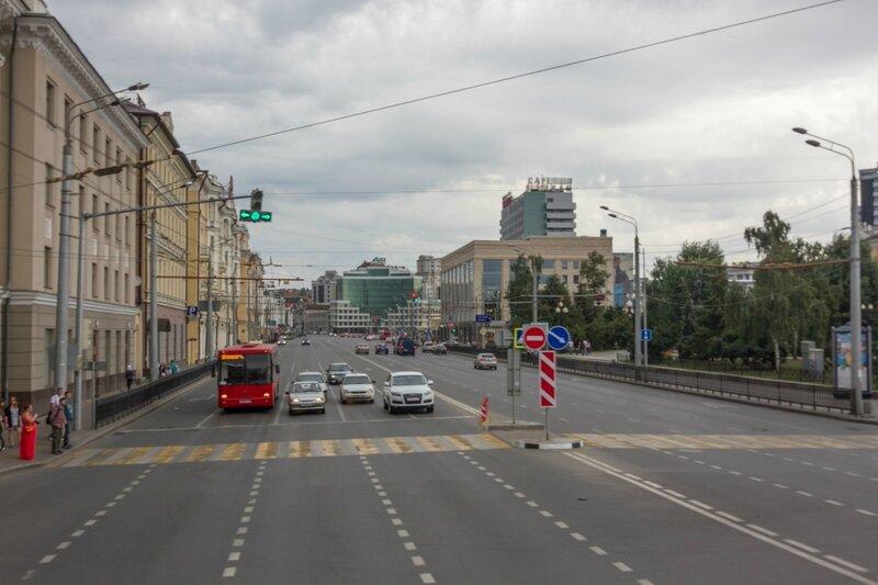 Улица Татарстан, Казань
