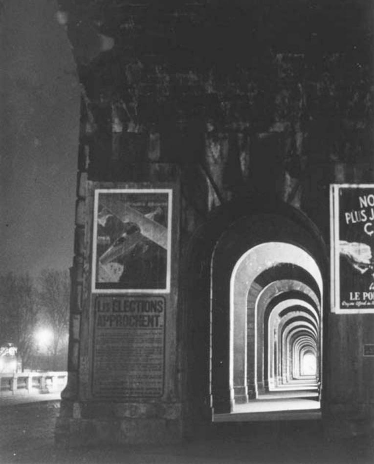 1932. Арки виадука Отей