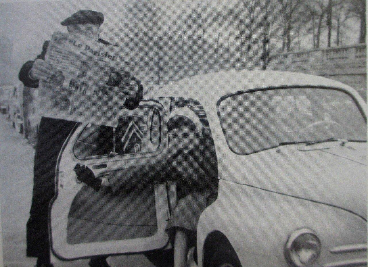 1955. Актриса Симона Бихерон