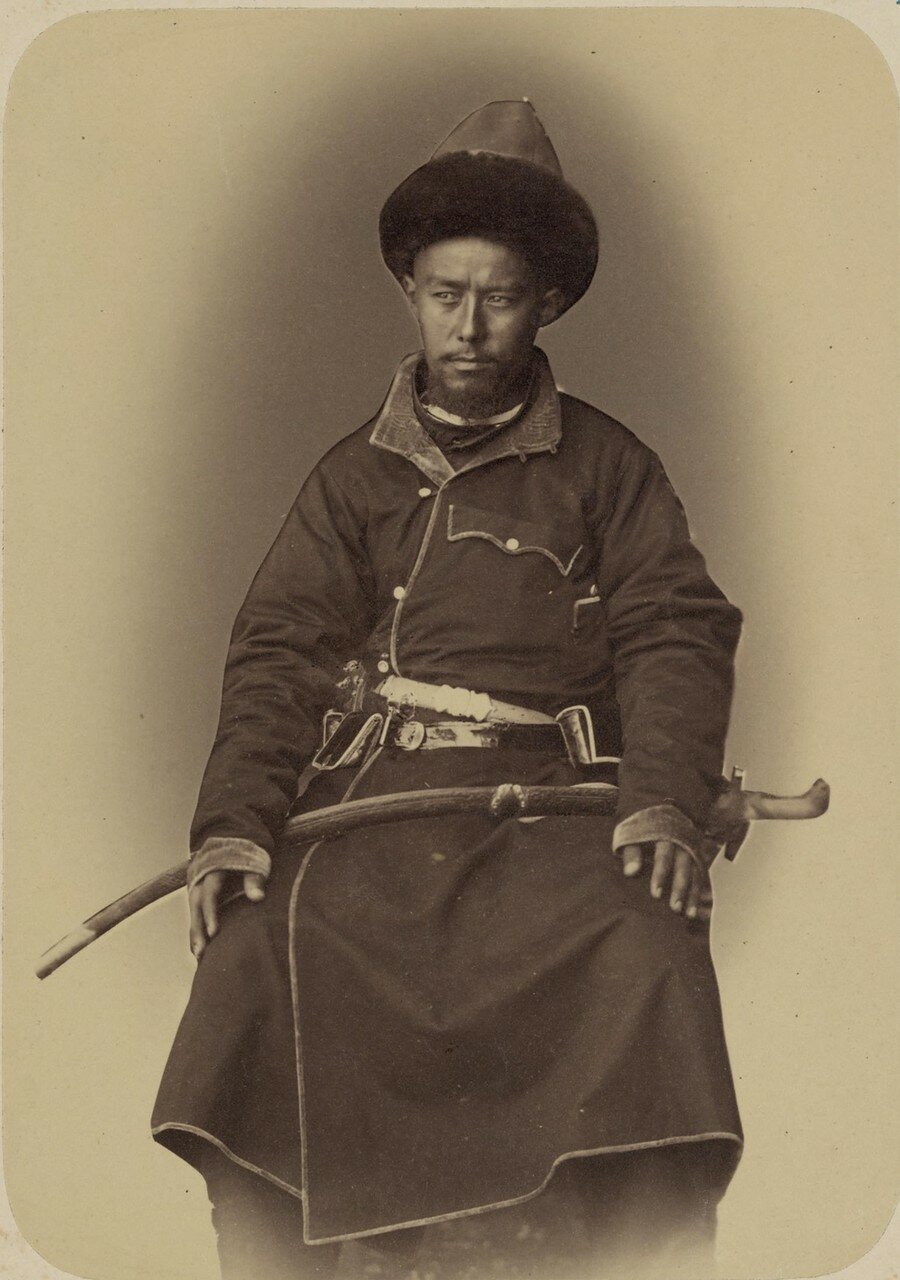 Портреты лиц, приближенных к кокандскому хану. Масейн-хан Тюра (племянник хана)