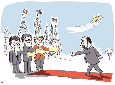 Либерман едет в Европу