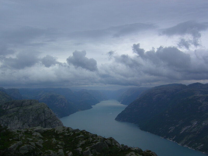 Норвегия Лисефьорд