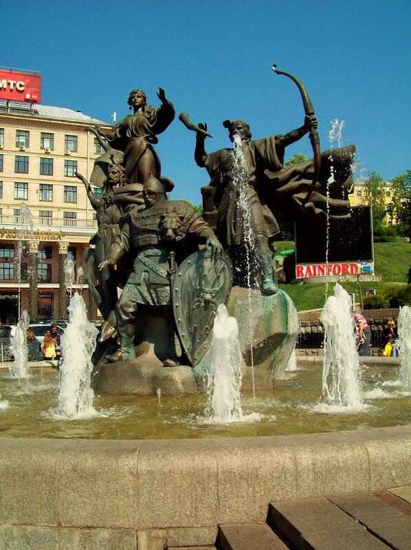 Фонтан-памятник на Майдане Незалежности