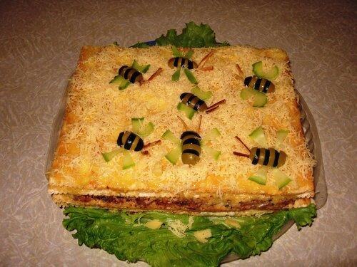 Видео по теме торт с пчелками