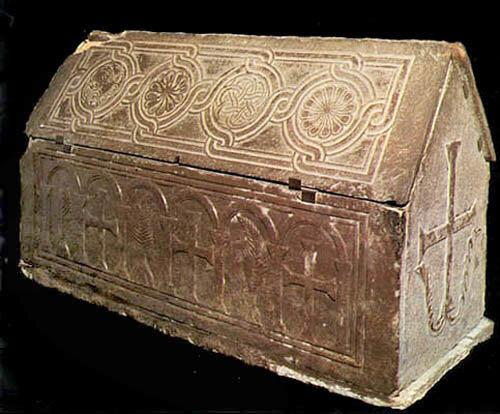 Богородица Десятинная.Саркофаг княгини Ольги