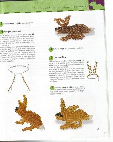 2 Книга животных из бисера 3D схемы продолжение 3.