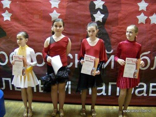 Школа танца Латино-Клуб Москва на фестивале Гран-При таланты