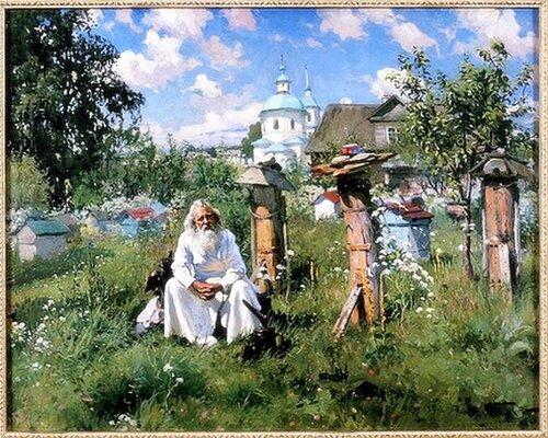 А.В.Маковский На пасеке.