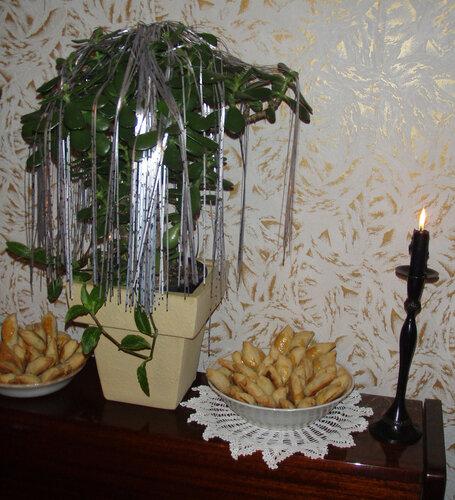 """Новогодняя композиция """"Пирожки"""""""